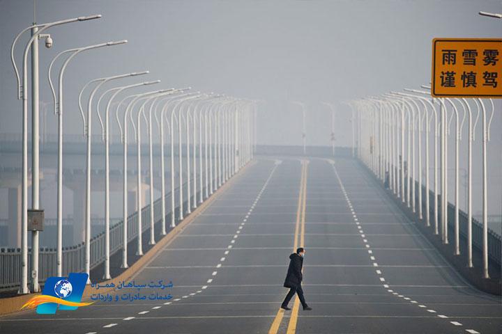 تاثیر کرونا بر صادرات چین