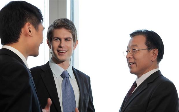 مذاکره بازرگانان چینی