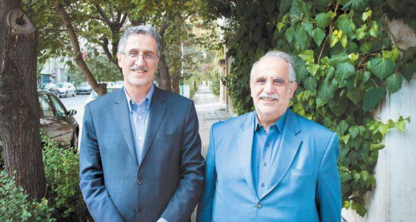 مسعود خوانساری و مسعود کرباسیان