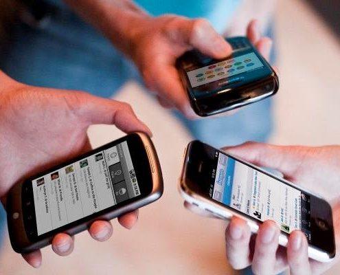 قاچاق موبایل