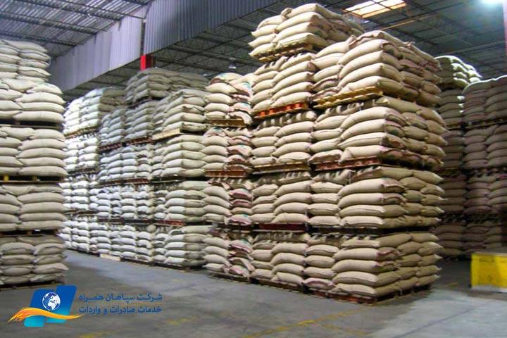 توزیع برنج وارداتی