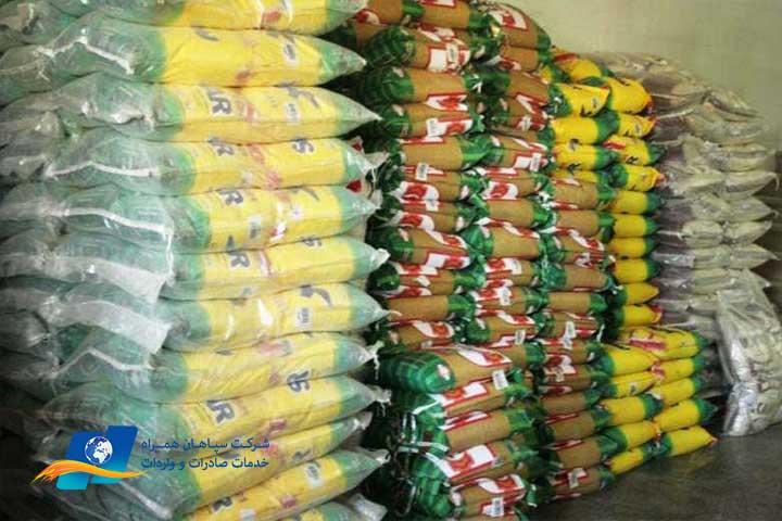 کاهش قیمت برنج وارداتی در بازار