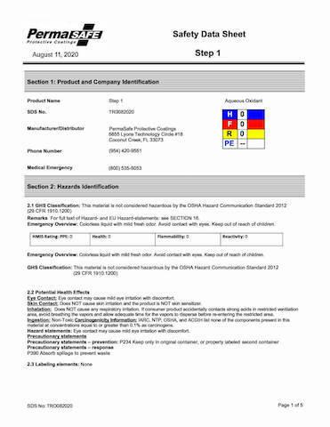 نمونه MSDS-pdf