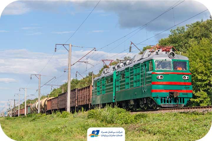 حمل و نقل بین المللی ریلی
